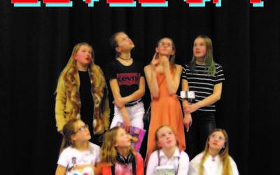 Zondag 8 april a.s. speelt Jeugdtheaterschool Wonderboom de nieuwste kindervoorstelling 'Level Up!' in de Blauwe Schuit. Gemaakt door en voor kinderen!