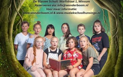 De kinderen en jongeren van het Hogeland brengen u de musical 'Lang en Gelukkig?'
